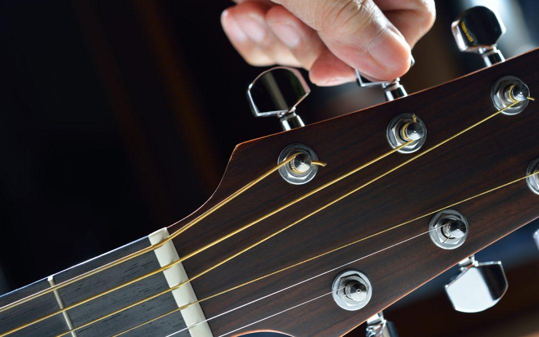 Como Afinar La Guitarra Correctamente