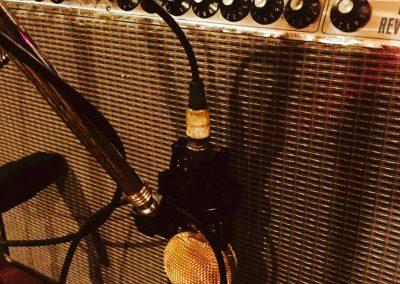 Fender Twin Reverb microfoneado